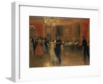 At the Ball-Frederick Vezin-Framed Giclee Print
