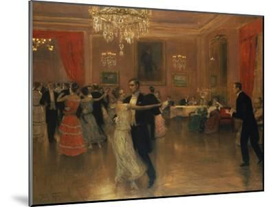 At the Ball-Frederick Vezin-Mounted Giclee Print