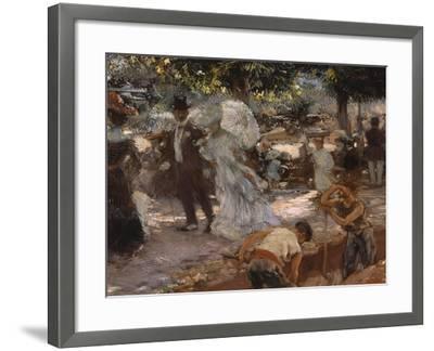 La Promenade-Gaston De Latouche-Framed Giclee Print