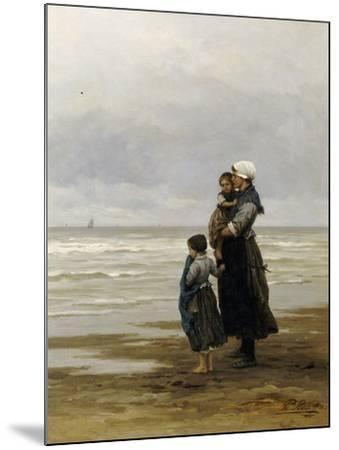 Waiting for the Boats, 1881-Philippe Lodowyck Jacob Frederik Sadee-Mounted Giclee Print
