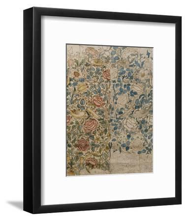 Design for Chintz: Rose-William Morris-Framed Premium Giclee Print