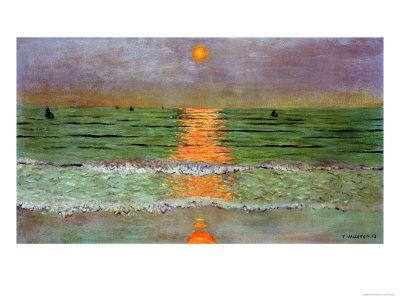 Sunset, 1913-F?lix Vallotton-Premium Giclee Print