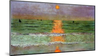 Sunset, 1913-F?lix Vallotton-Mounted Giclee Print