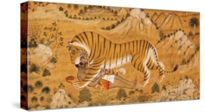 The Revenge of the Hunted Devgarh, circa 1780--Stretched Canvas Print