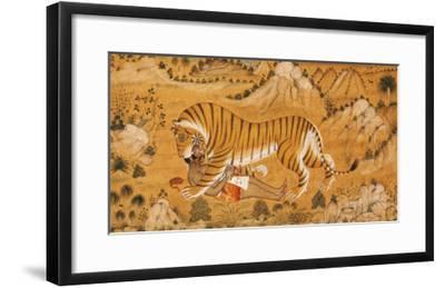 The Revenge of the Hunted Devgarh, circa 1780--Framed Giclee Print
