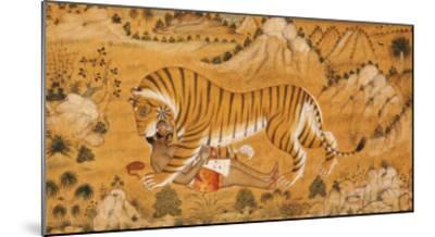 The Revenge of the Hunted Devgarh, circa 1780--Mounted Giclee Print