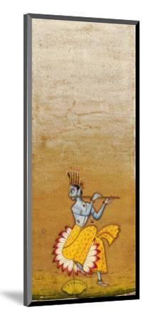 Krishna Fluting--Mounted Giclee Print