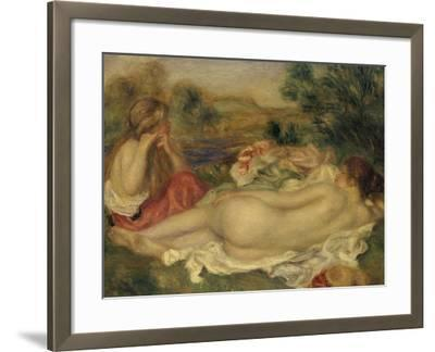 Two Bathers, 1896-Pierre-Auguste Renoir-Framed Giclee Print