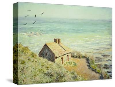 The Customs Hut, Morning, 1882-Claude Monet-Stretched Canvas Print