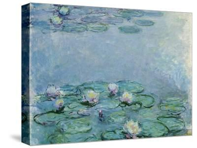 Water Lilies, Nympheas-Claude Monet-Stretched Canvas Print