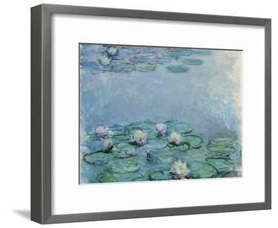 Water Lilies, Nympheas-Claude Monet-Framed Giclee Print