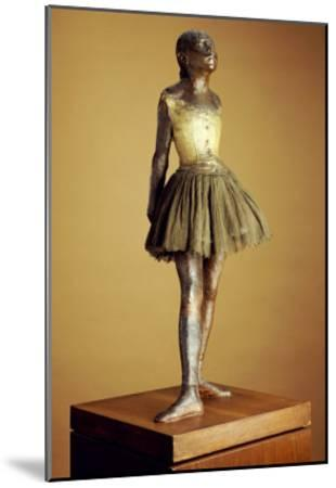 The Little Fourteen Year Old Dancer, Cast 1921-Edgar Degas-Mounted Giclee Print