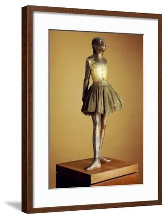 The Little Fourteen Year Old Dancer, Cast 1921-Edgar Degas-Framed Giclee Print