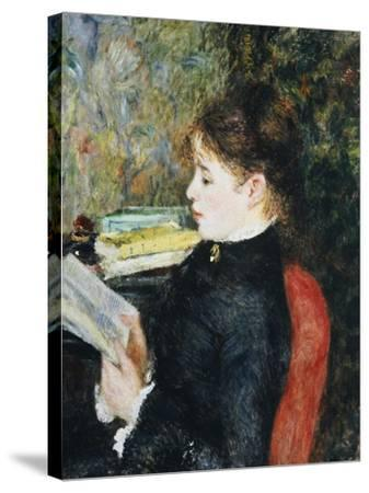 The Reader, 1877-Pierre-Auguste Renoir-Stretched Canvas Print
