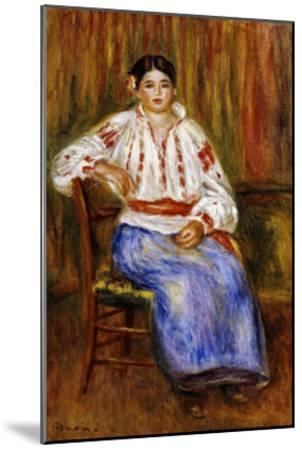 Young Romanian, 1914-Pierre-Auguste Renoir-Mounted Giclee Print