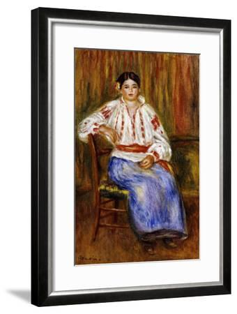 Young Romanian, 1914-Pierre-Auguste Renoir-Framed Giclee Print