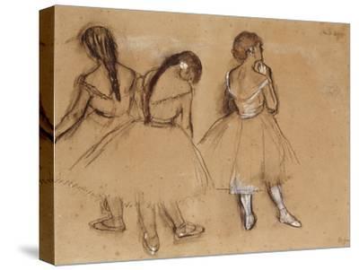 Three Dancers-Edgar Degas-Stretched Canvas Print