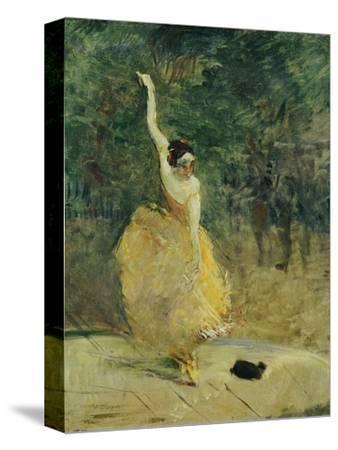 The Spanish Dancer, 1888-Henri de Toulouse-Lautrec-Stretched Canvas Print