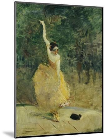 The Spanish Dancer, 1888-Henri de Toulouse-Lautrec-Mounted Premium Giclee Print