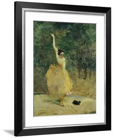 The Spanish Dancer, 1888-Henri de Toulouse-Lautrec-Framed Giclee Print