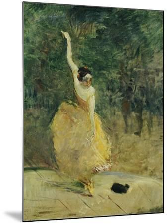 The Spanish Dancer, 1888-Henri de Toulouse-Lautrec-Mounted Giclee Print