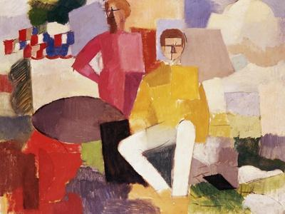 The Fourteenth of July-Roger de La Fresnaye-Stretched Canvas Print