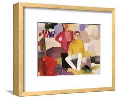 The Fourteenth of July-Roger de La Fresnaye-Framed Premium Giclee Print