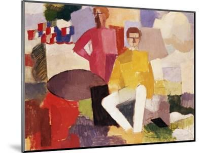 The Fourteenth of July-Roger de La Fresnaye-Mounted Premium Giclee Print