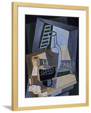 Still life in Front of a Window, 1922-Juan Gris-Framed Giclee Print