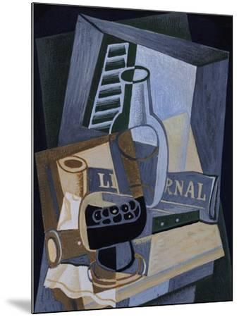 Still life in Front of a Window, 1922-Juan Gris-Mounted Giclee Print
