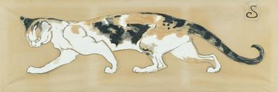 The Cat, le Chat-Th?ophile Alexandre Steinlen-Stretched Canvas Print