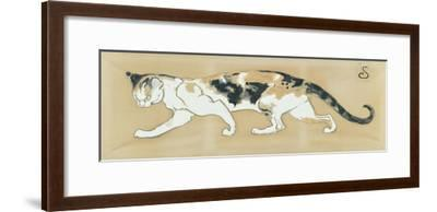 The Cat, le Chat-Th?ophile Alexandre Steinlen-Framed Giclee Print