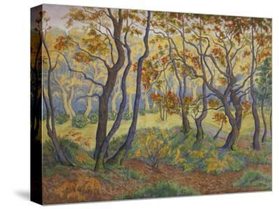 Edge of the Forest-Paul Ranson-Stretched Canvas Print