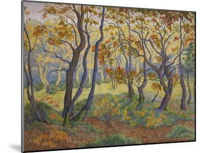 Edge of the Forest-Paul Ranson-Mounted Giclee Print
