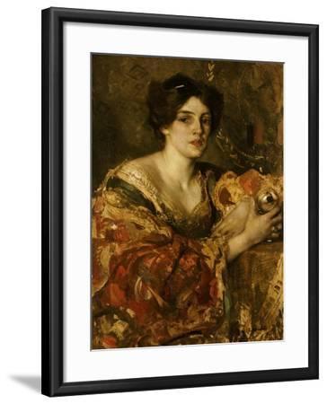 The Fortune Teller, Miss Jane Aitken-Edward Arthur Walton-Framed Giclee Print