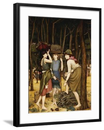 Pine Woods at Viareggio-John Roddam Spencer Stanhope-Framed Giclee Print