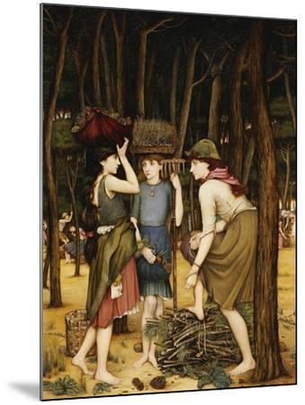 Pine Woods at Viareggio-John Roddam Spencer Stanhope-Mounted Giclee Print
