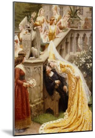 Alain Chartier, 1903-Edmund Blair Leighton-Mounted Giclee Print