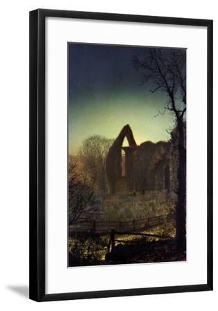 Bolton Abbey-John Atkinson Grimshaw-Framed Giclee Print