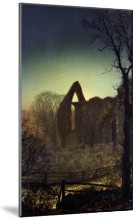 Bolton Abbey-John Atkinson Grimshaw-Mounted Giclee Print