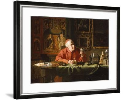 The Cardinal's Treasures-E.c. Eldridge-Framed Giclee Print