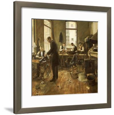The Tailors-Leon Bartholomee-Framed Giclee Print