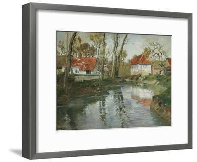 La Laita a Quimperle-Fritz Thaulow-Framed Giclee Print