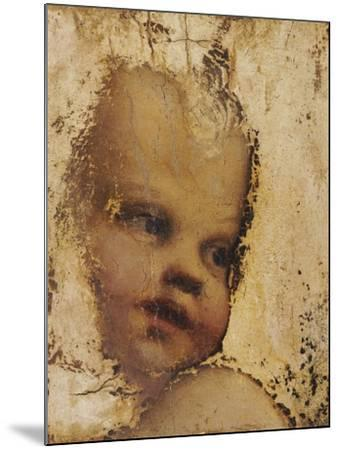 The Head of a Child, a Fragment-Correggio-Mounted Giclee Print
