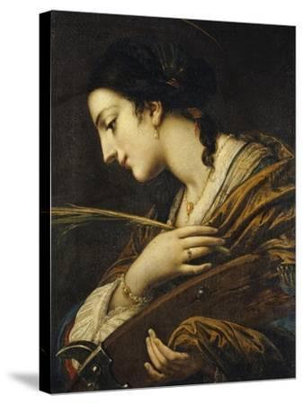Saint Catherine of Alexandria-Il Volterrano-Stretched Canvas Print