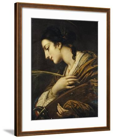 Saint Catherine of Alexandria-Il Volterrano-Framed Giclee Print