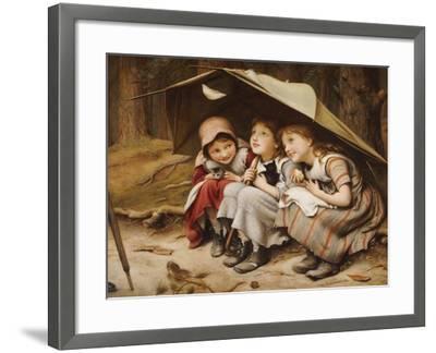 Three Little Kittens, 1883-Joseph Clark-Framed Giclee Print