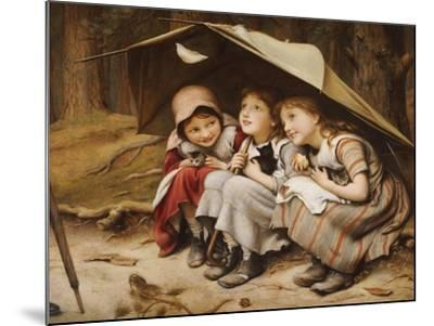 Three Little Kittens, 1883-Joseph Clark-Mounted Giclee Print