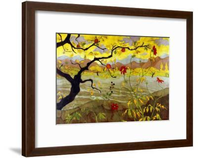 Apple Tree with Red Fruit, c.1902-Paul Ranson-Framed Giclee Print