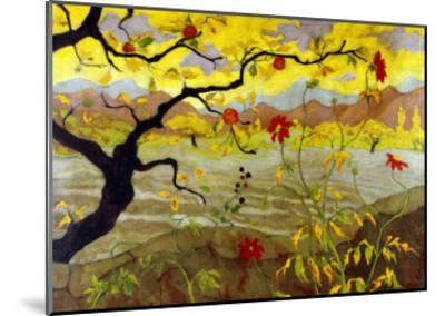 Apple Tree with Red Fruit, c.1902-Paul Ranson-Mounted Giclee Print